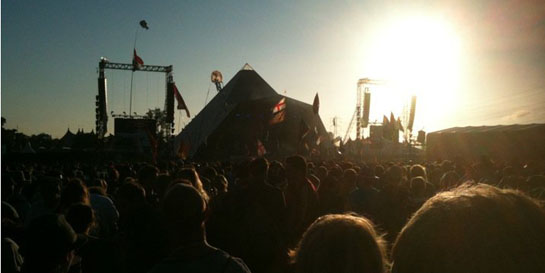 Elbow at Glastonbury