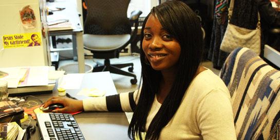 Island intern Janette on being on BBC Newsnight