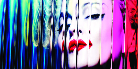 Madonna returns with MDNA